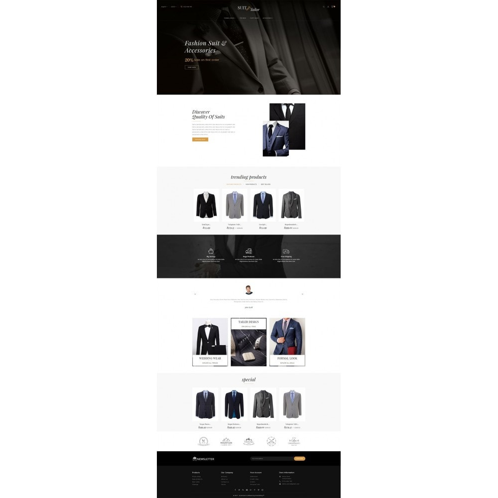 theme - Mode & Chaussures - Suit/Tailor Store - 3