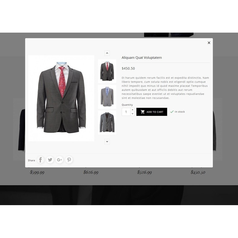 theme - Mode & Chaussures - Suit/Tailor Store - 9