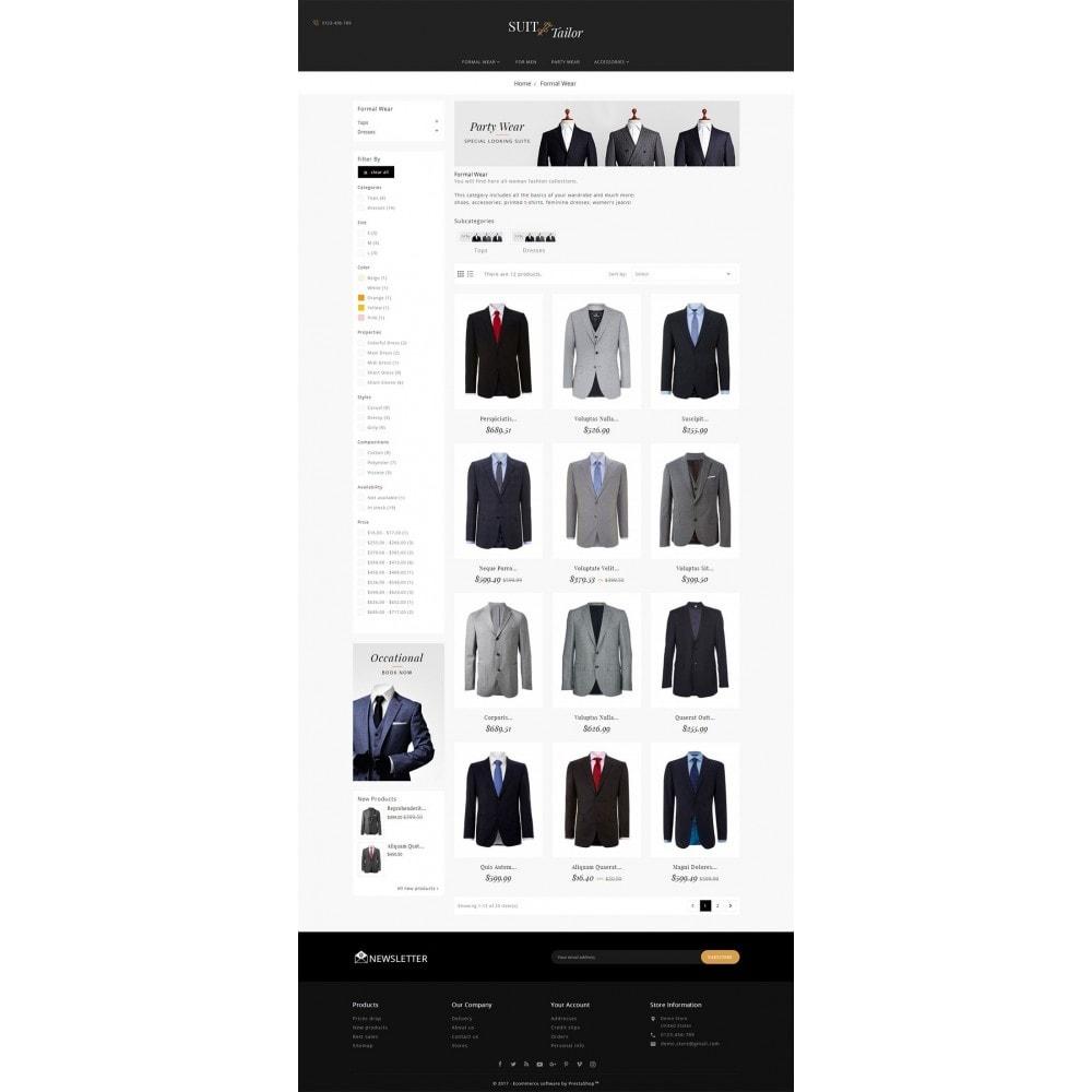 theme - Moda y Calzado - Suit/Tailor Store - 4