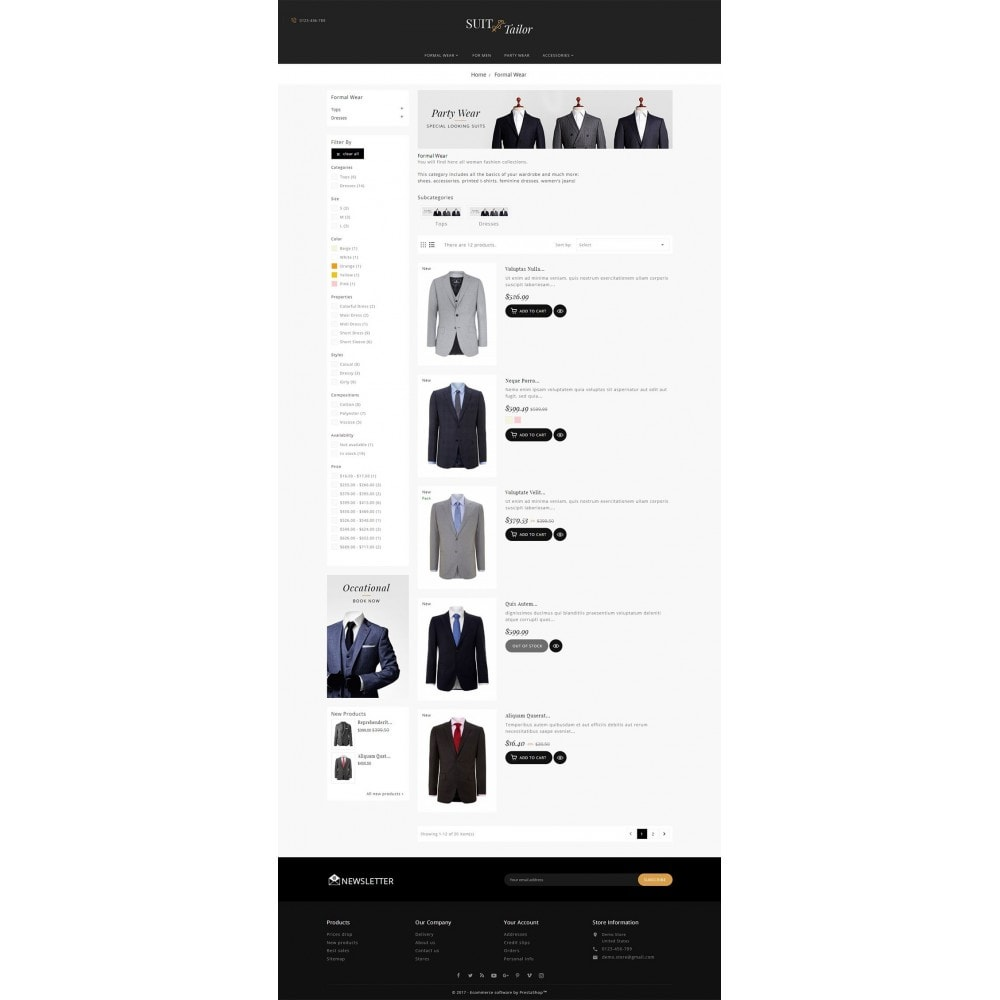 theme - Moda y Calzado - Suit/Tailor Store - 5
