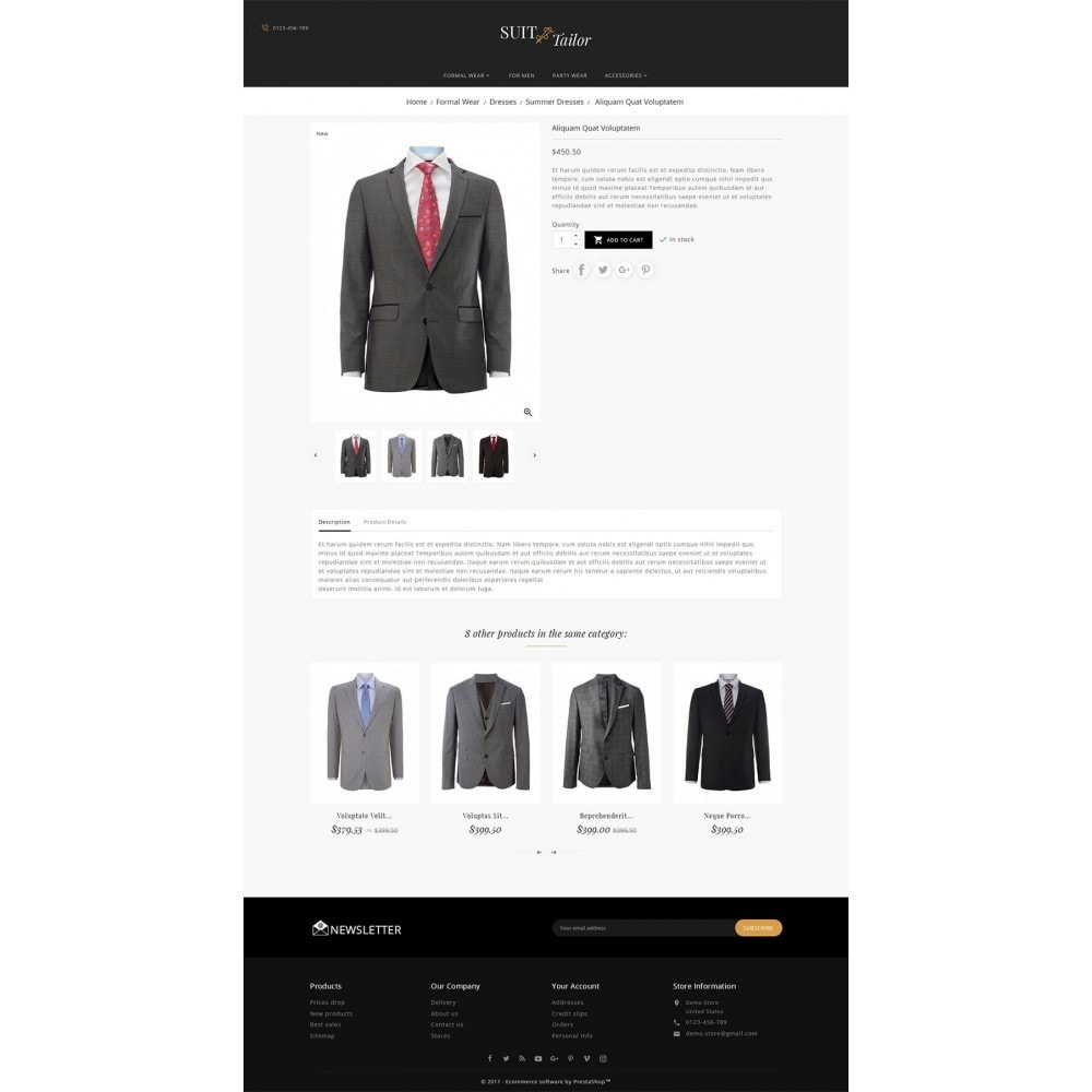 theme - Moda y Calzado - Suit/Tailor Store - 6
