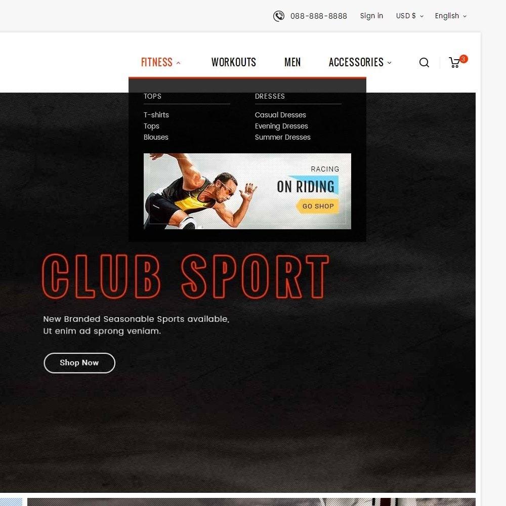 theme - Deportes, Actividades y Viajes - Sports Club - 10