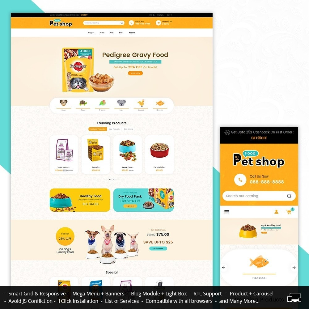theme - Animales y Mascotas - Pet Food - 2