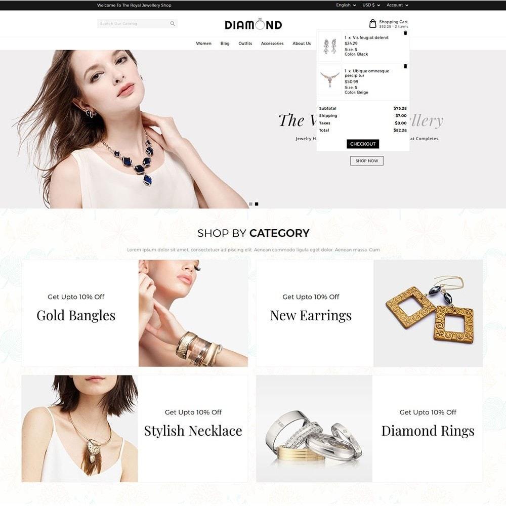 theme - Bijoux & Accessoires - Diamond Jewellery - 3