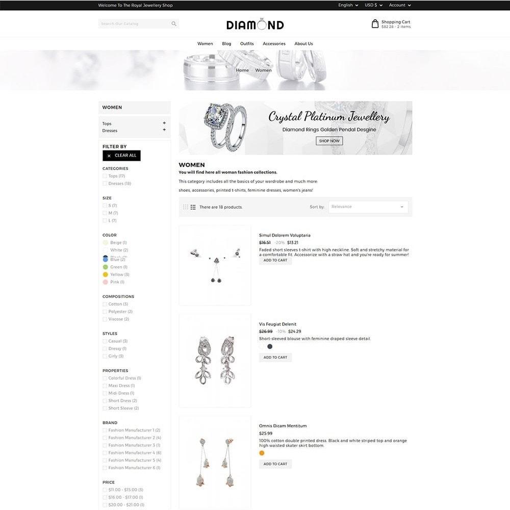 theme - Bijoux & Accessoires - Diamond Jewellery - 5