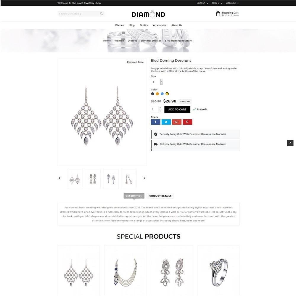 theme - Bijoux & Accessoires - Diamond Jewellery - 6