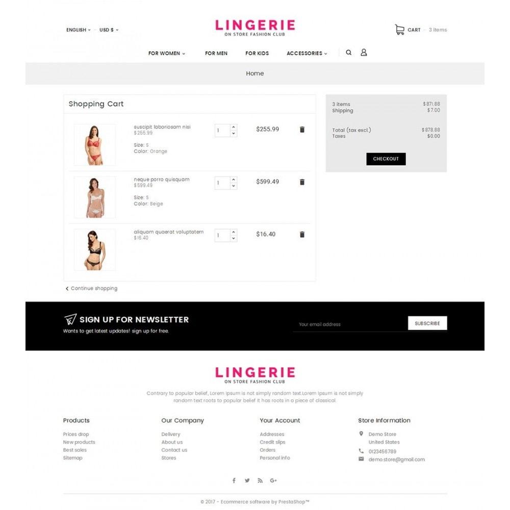 theme - Lingerie & Erwachsene - Lingerie Shop - 7