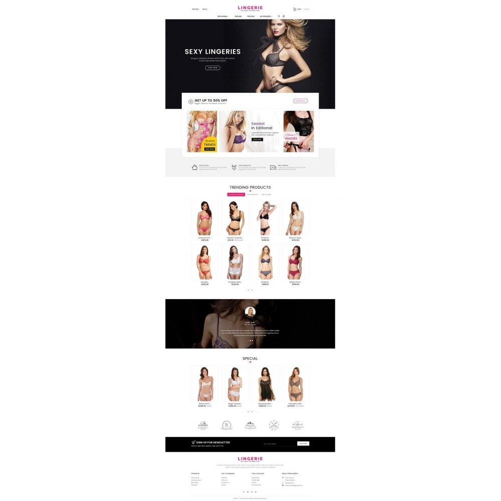 theme - Lingerie & Adulti - Lingerie Shop - 3