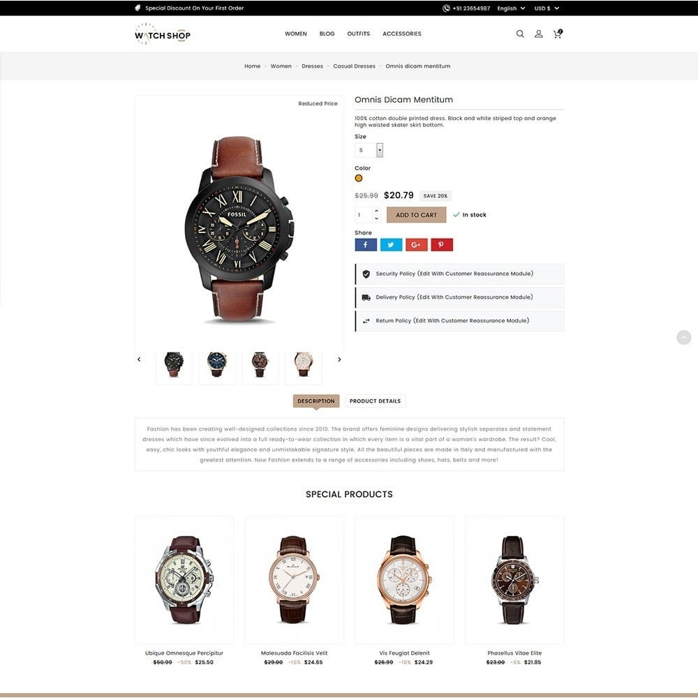 theme - Bellezza & Gioielli - Watch Shop - 6