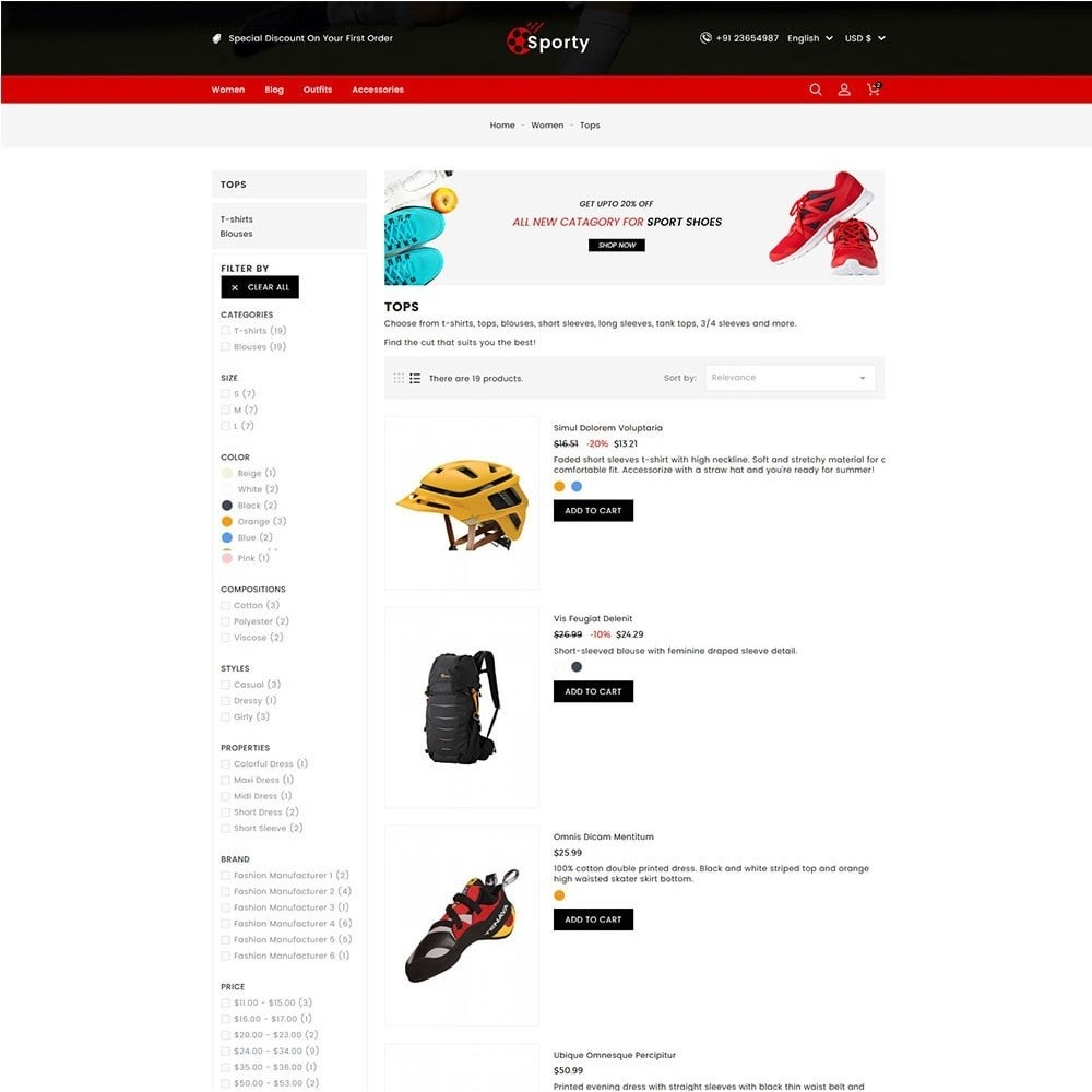 theme - Desporto, Actividades & Viagens - Sporty Game and Sports Store - 4
