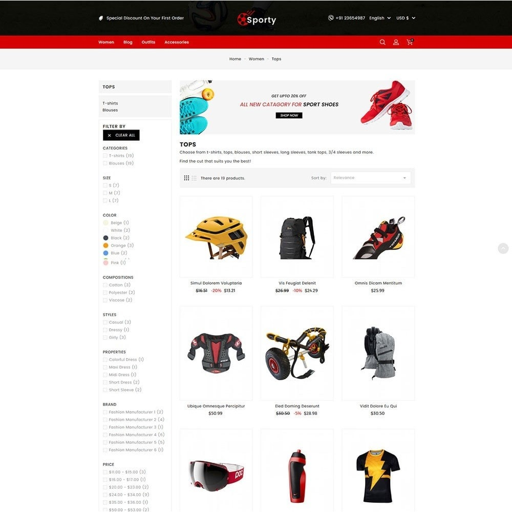 theme - Desporto, Actividades & Viagens - Sporty Game and Sports Store - 5