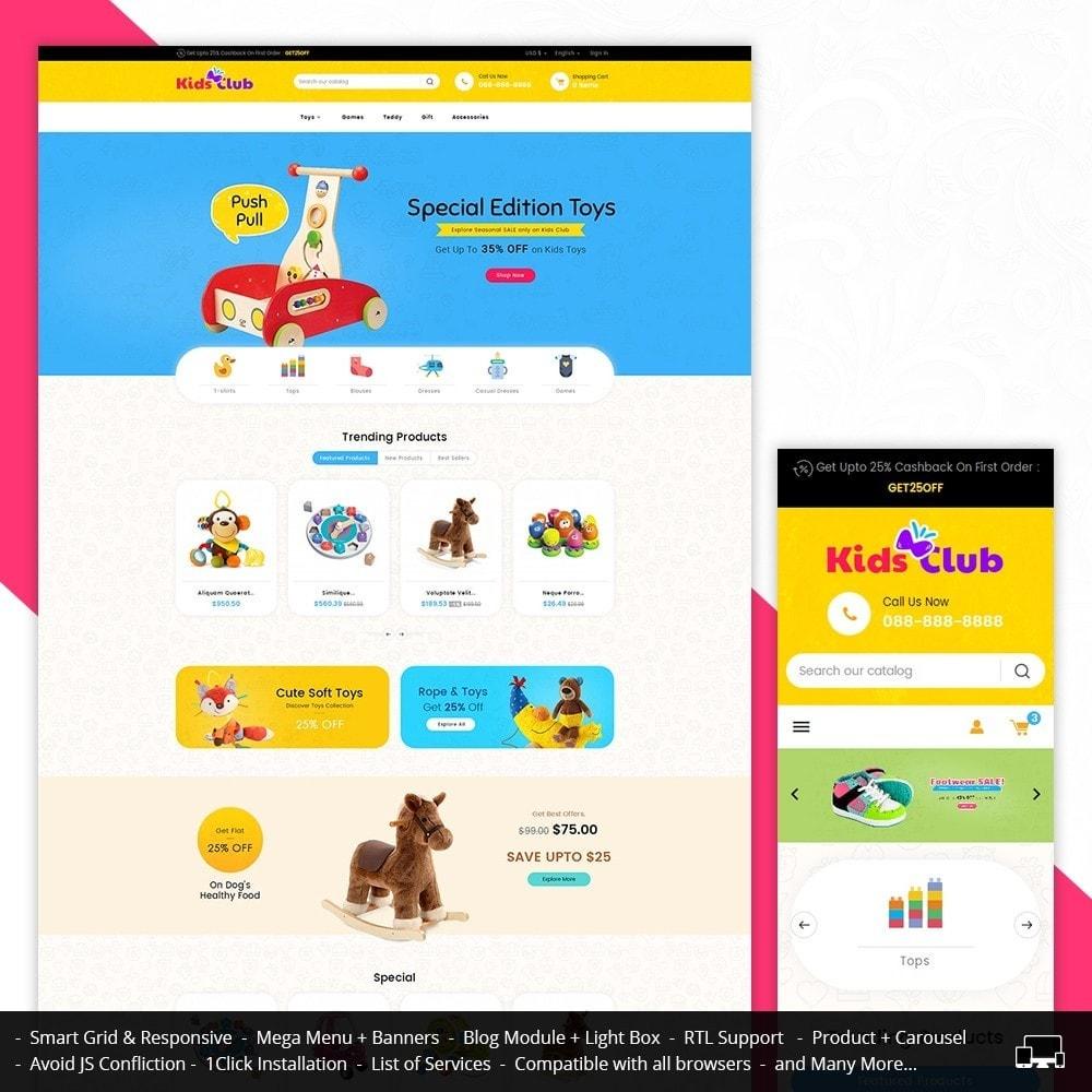 theme - Niños y Juguetes - Kids Toy Club - 2