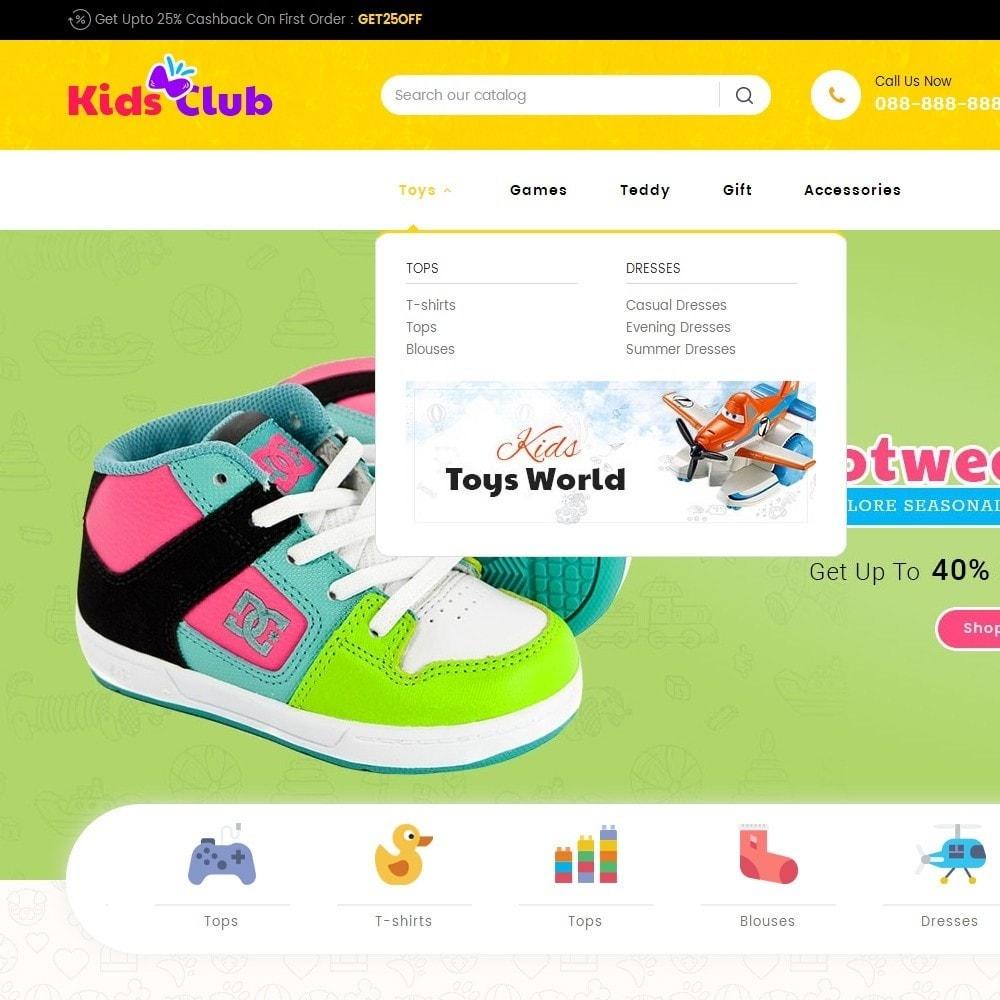 theme - Niños y Juguetes - Kids Toy Club - 10