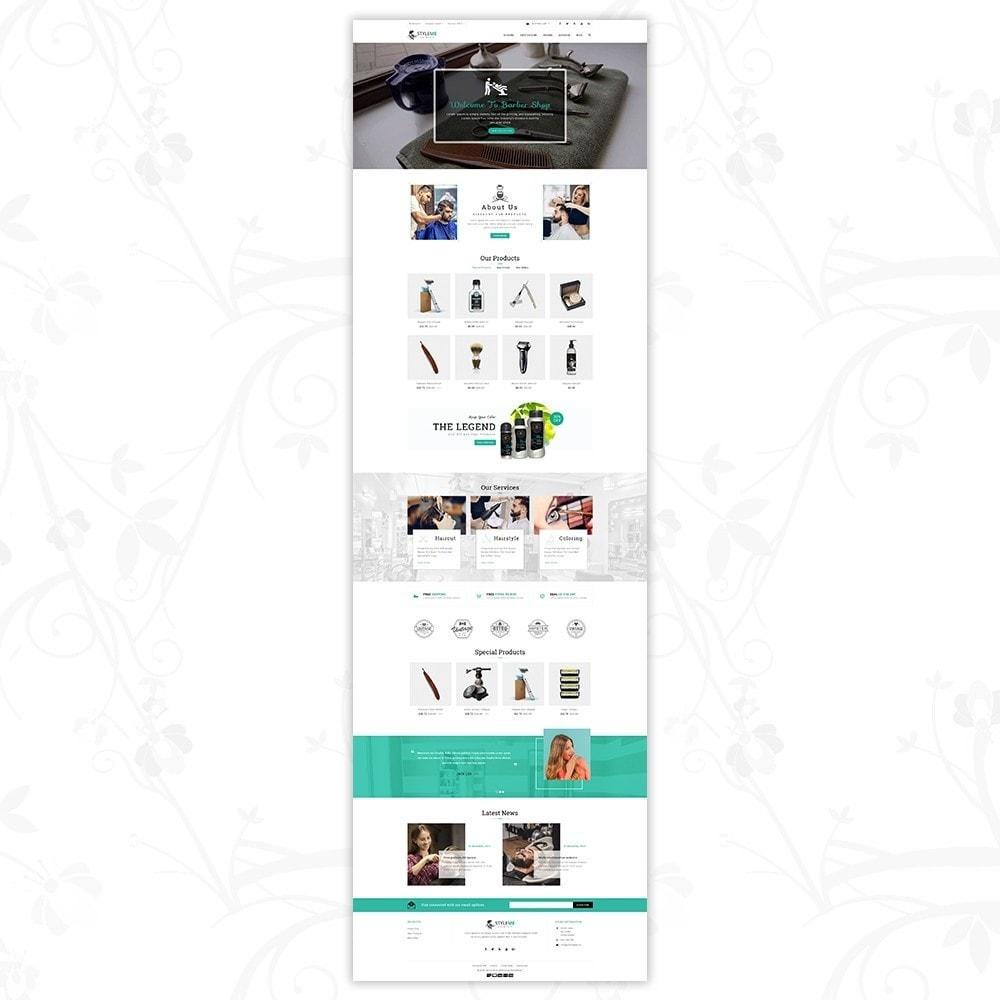 theme - Здоровье и красота - Styleme - Barber Store - 2