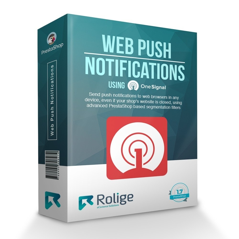module - Перенаправление и Брошенные корзины - Web Browser Push Notifications using OneSignal - 1