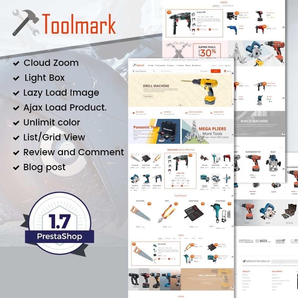 theme - Maison & Jardin - Tools Smart - 1