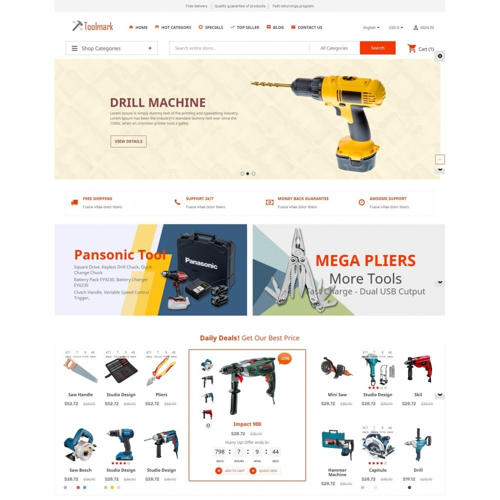 theme - Home & Garden - Tools Smart - 2