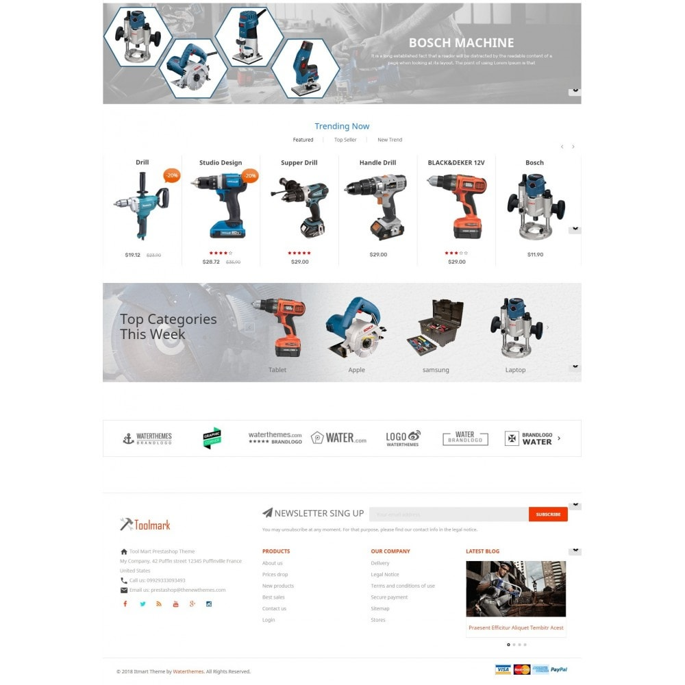 theme - Maison & Jardin - Tools Smart - 3
