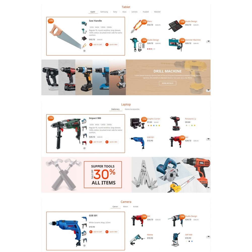 theme - Maison & Jardin - Tools Smart - 4