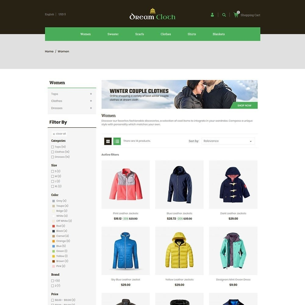 theme - Мода и обувь - Dream Cloth Store - 3