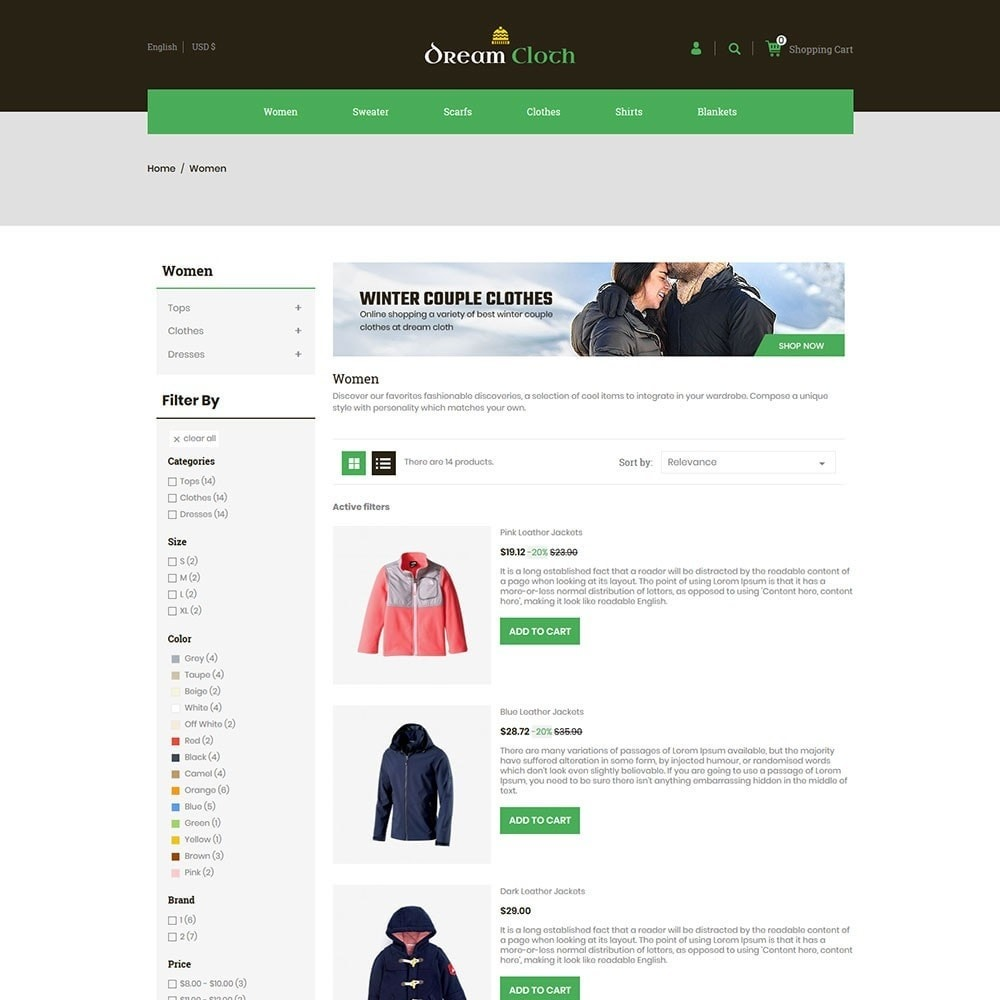 theme - Мода и обувь - Dream Cloth Store - 4