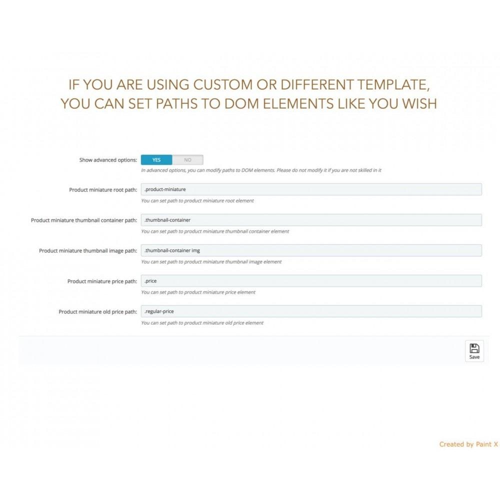 module - Combinazioni & Personalizzazione Prodotti - Gestire gli attributi dei prodotti dall'elenco prodotti - 5
