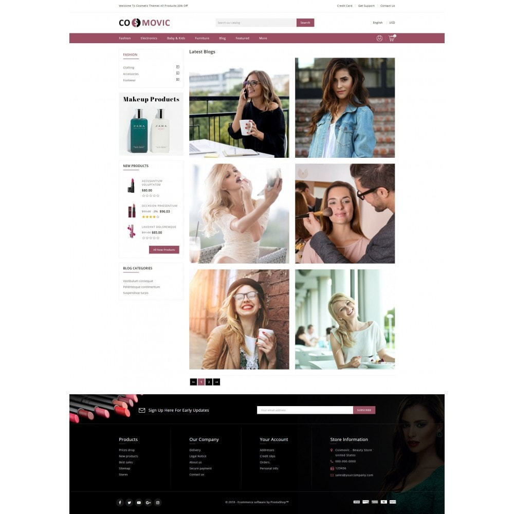 theme - Health & Beauty - Cosmetic Store - 9