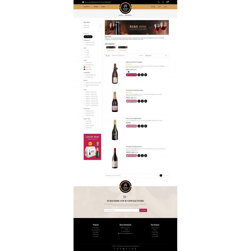 theme - Drink & Wine - WineYard Store - 5