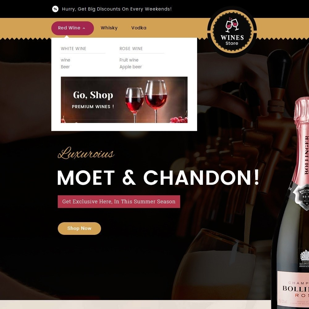 theme - Drink & Wine - WineYard Store - 9