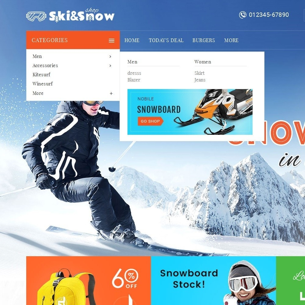 theme - Sport, Loisirs & Voyage - Ski & Snow Boards - 9