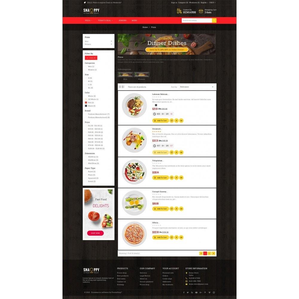 theme - Gastronomía y Restauración - Restaurant & Snacks Food - 5