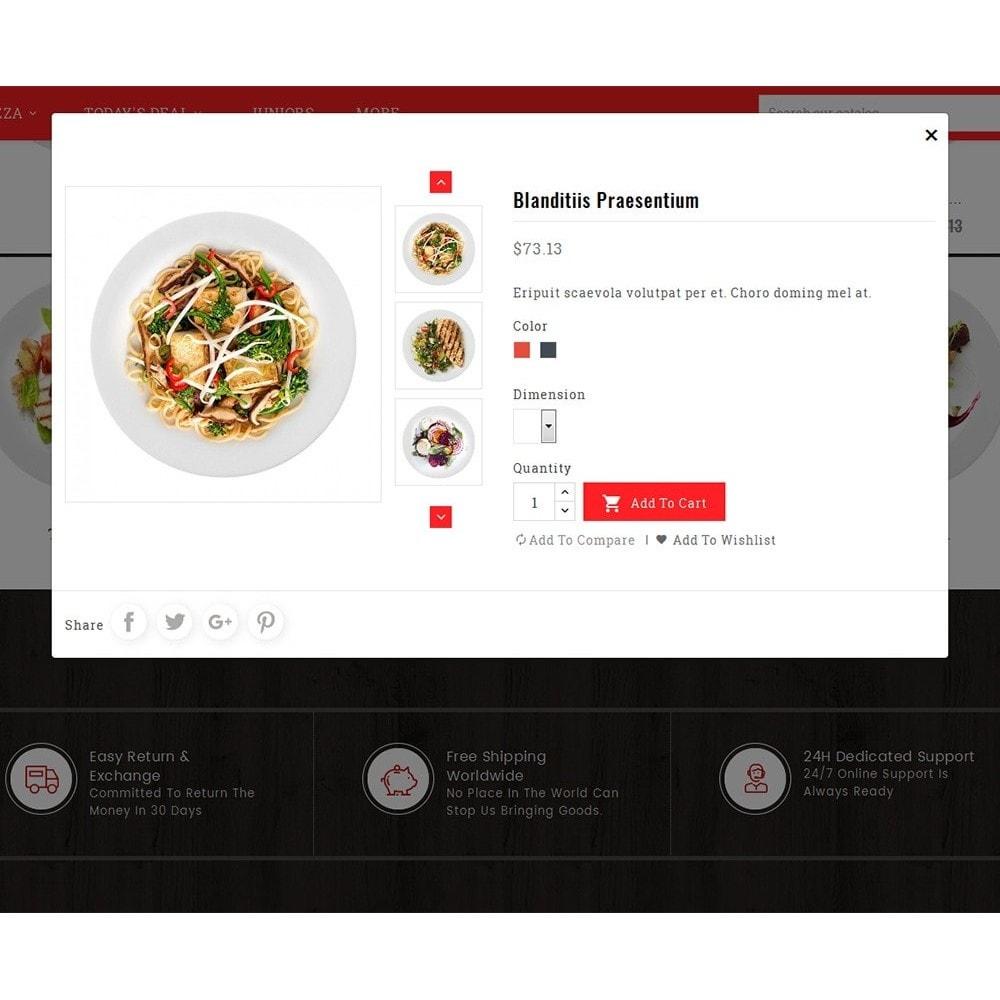 theme - Gastronomía y Restauración - Restaurant & Snacks Food - 8