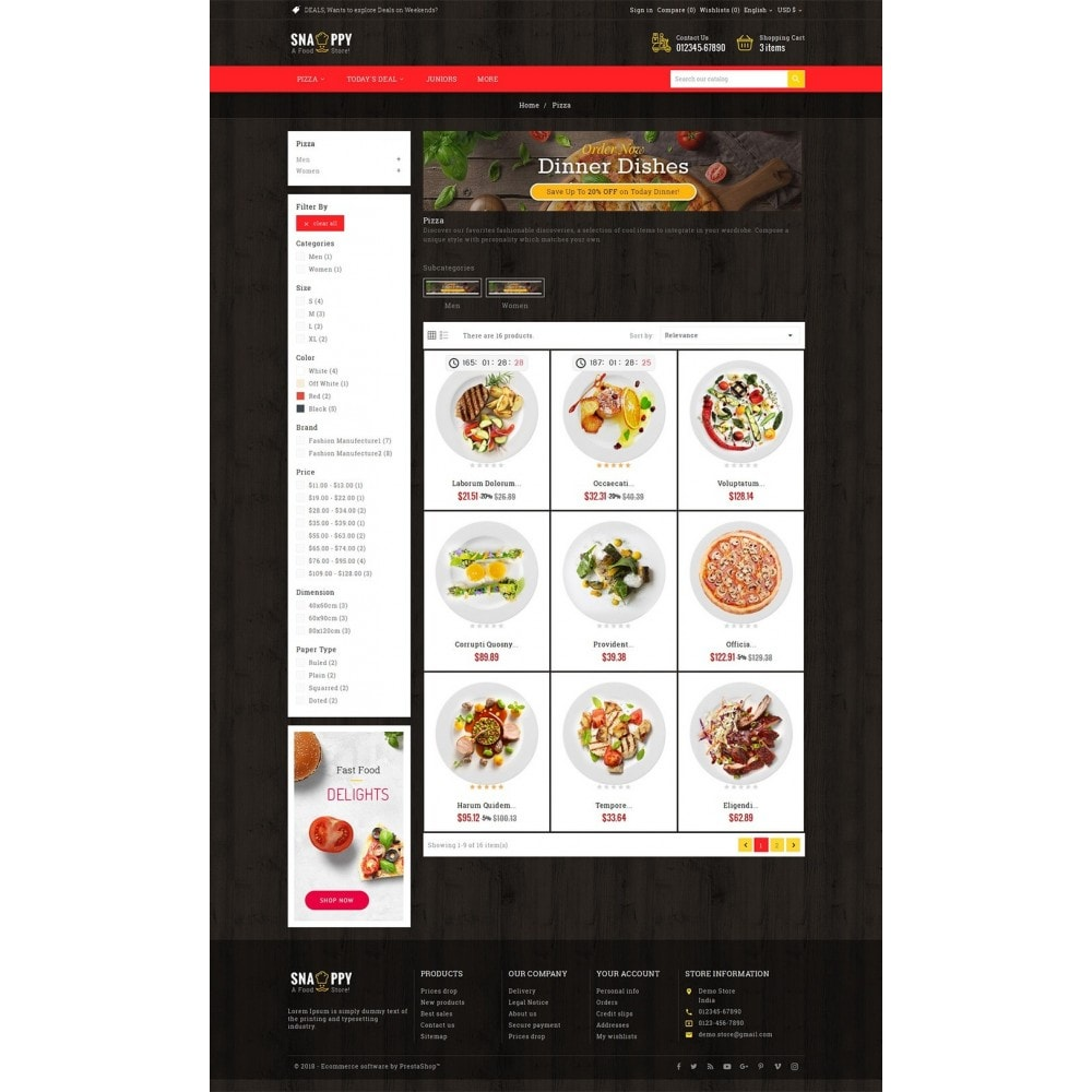 theme - Lebensmittel & Restaurants - Restaurant & Snacks Food - 4