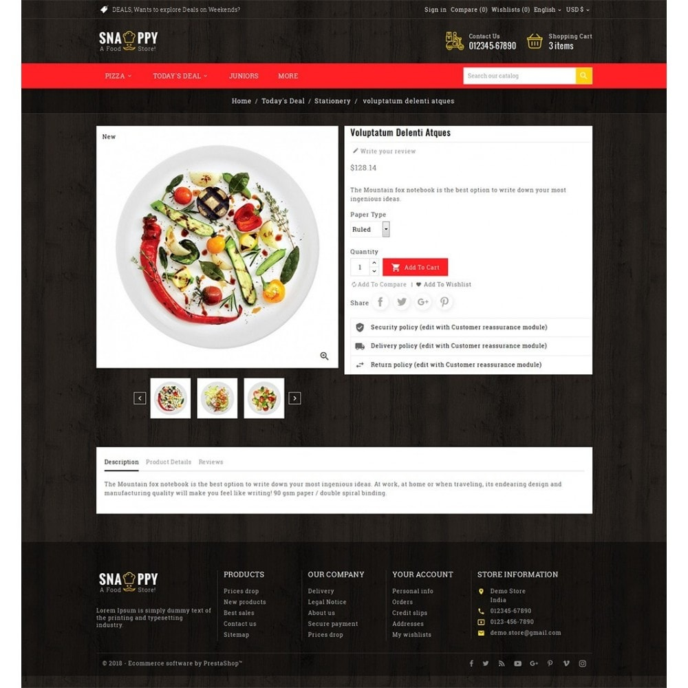 theme - Lebensmittel & Restaurants - Restaurant & Snacks Food - 6
