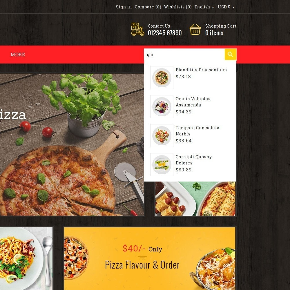 theme - Lebensmittel & Restaurants - Restaurant & Snacks Food - 10