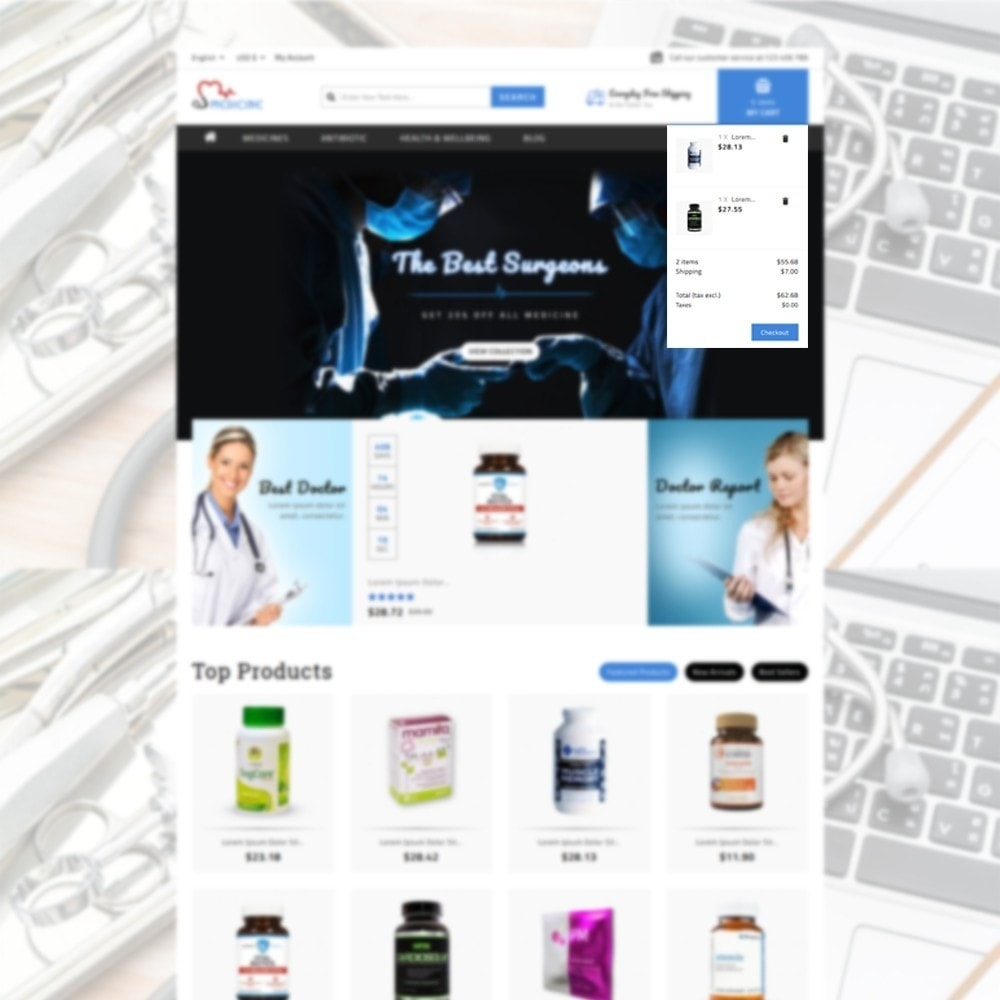 theme - Health & Beauty - Medicine Store - 6