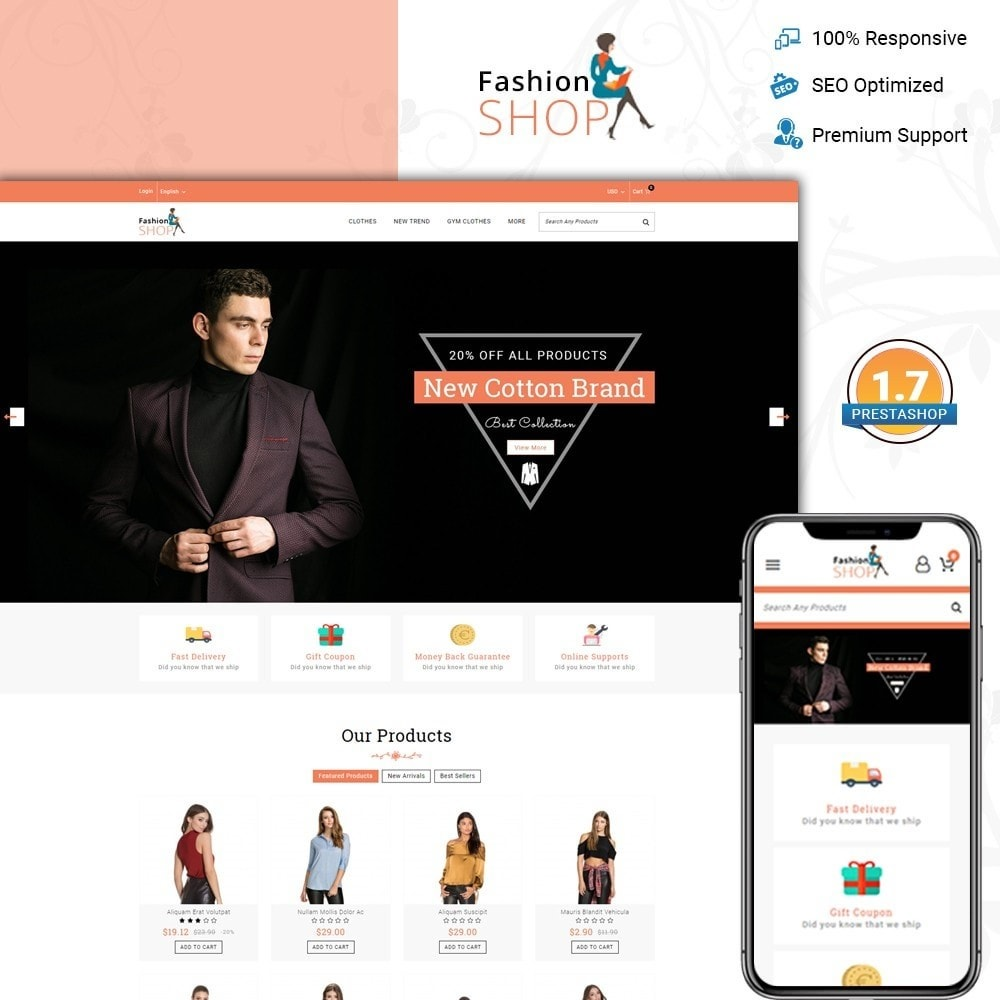 theme - Mode & Chaussures - Fashion Shop - Multipurpose Store - 1