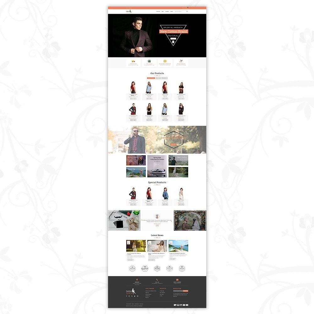theme - Mode & Chaussures - Fashion Shop - Multipurpose Store - 2