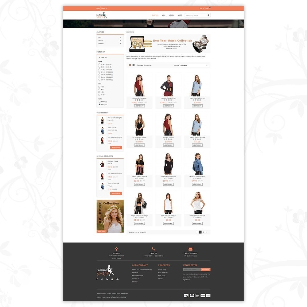 theme - Mode & Chaussures - Fashion Shop - Multipurpose Store - 3