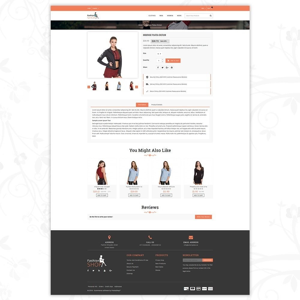 theme - Mode & Chaussures - Fashion Shop - Multipurpose Store - 5
