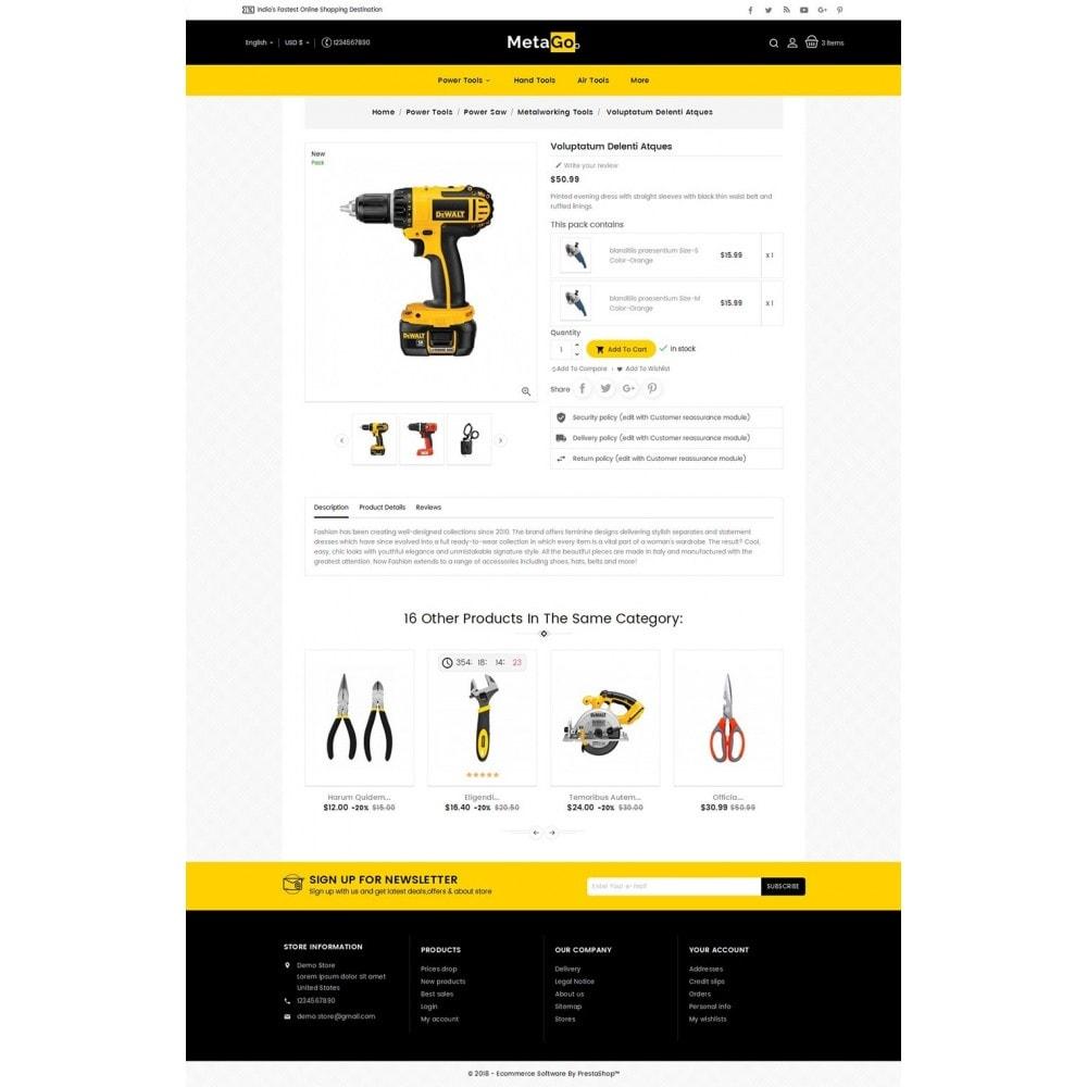 theme - Hogar y Jardín - Melano Power Tools - 6