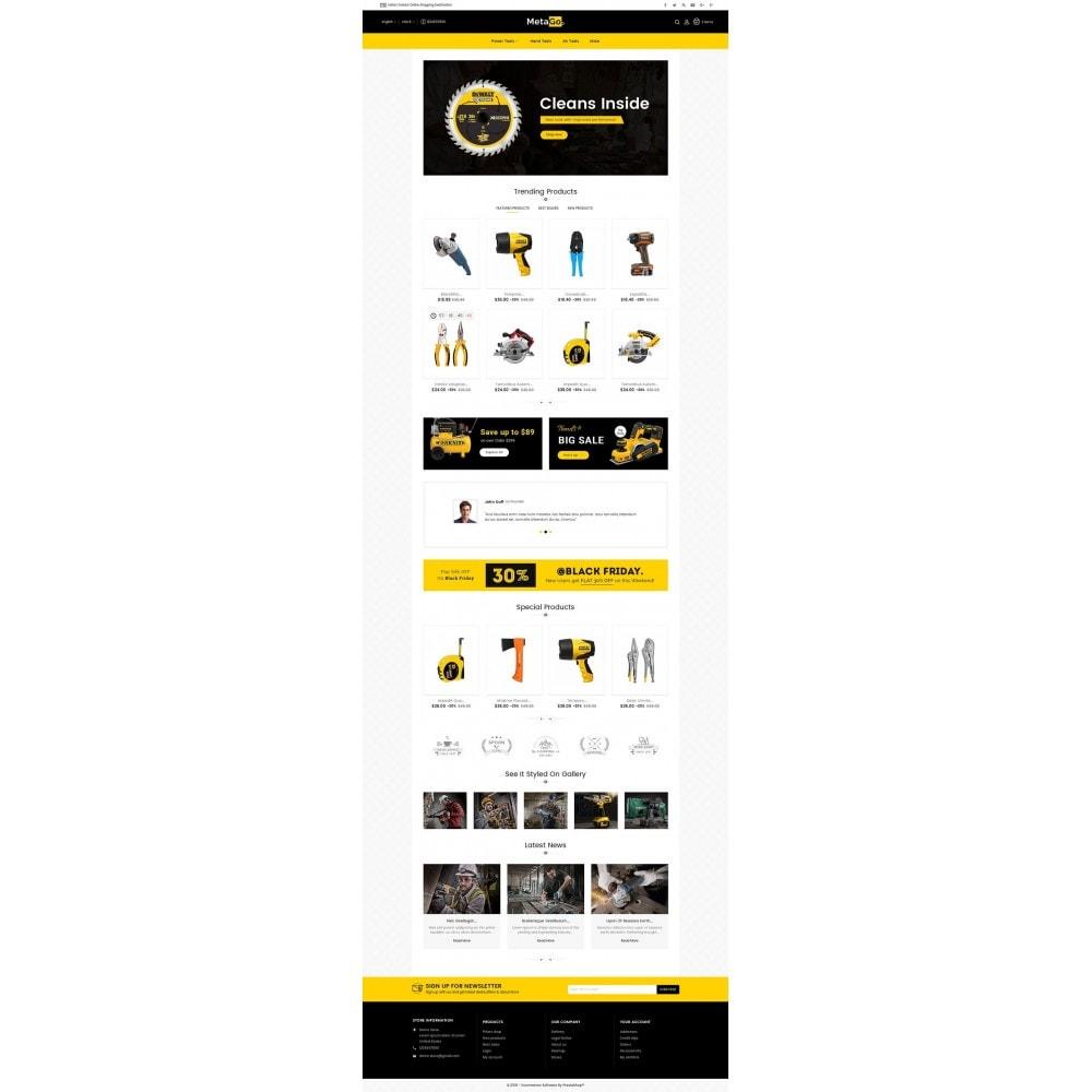 theme - Casa & Giardino - Melano Power Tools - 3