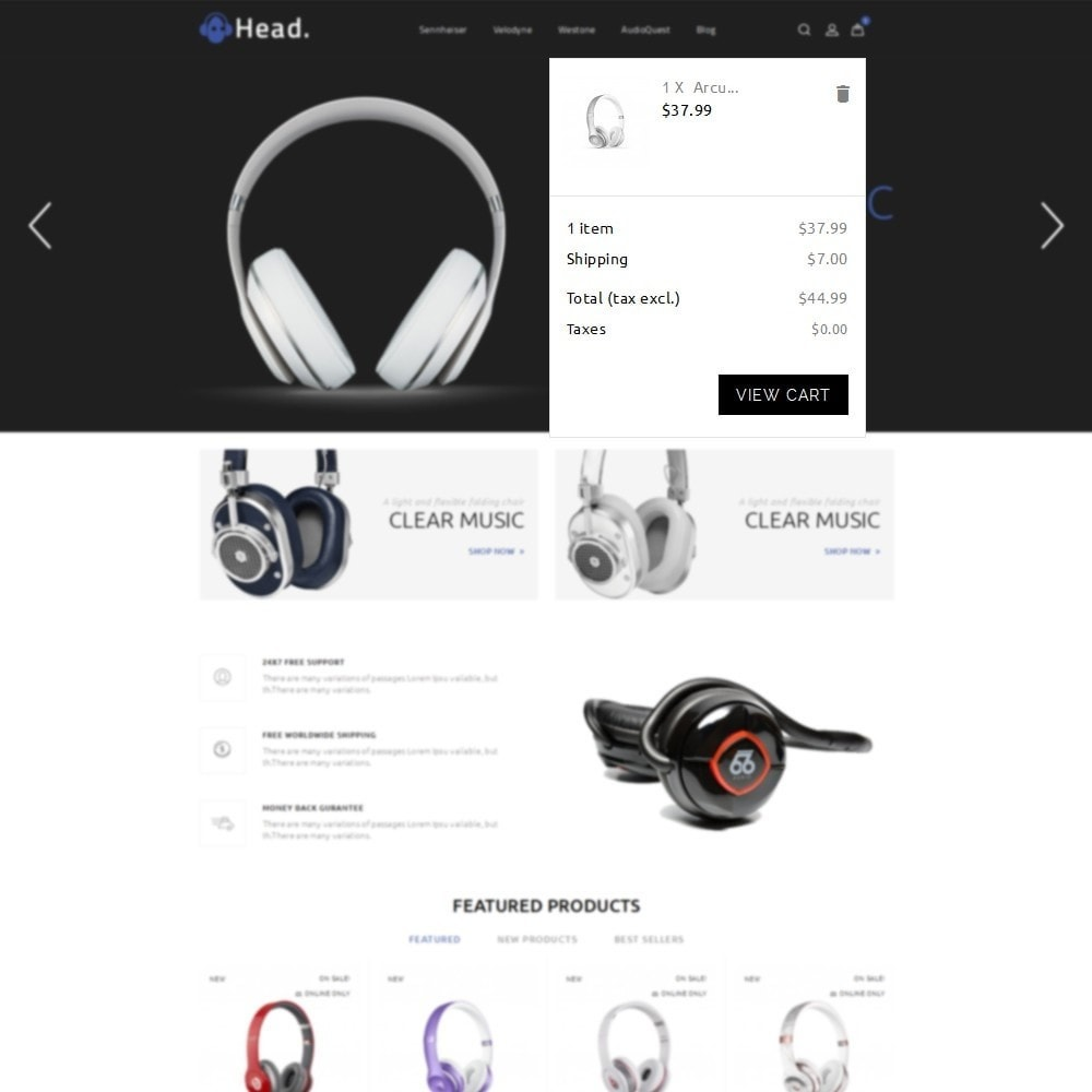 theme - Electronics & Computers - Headphone Demo Store - 7