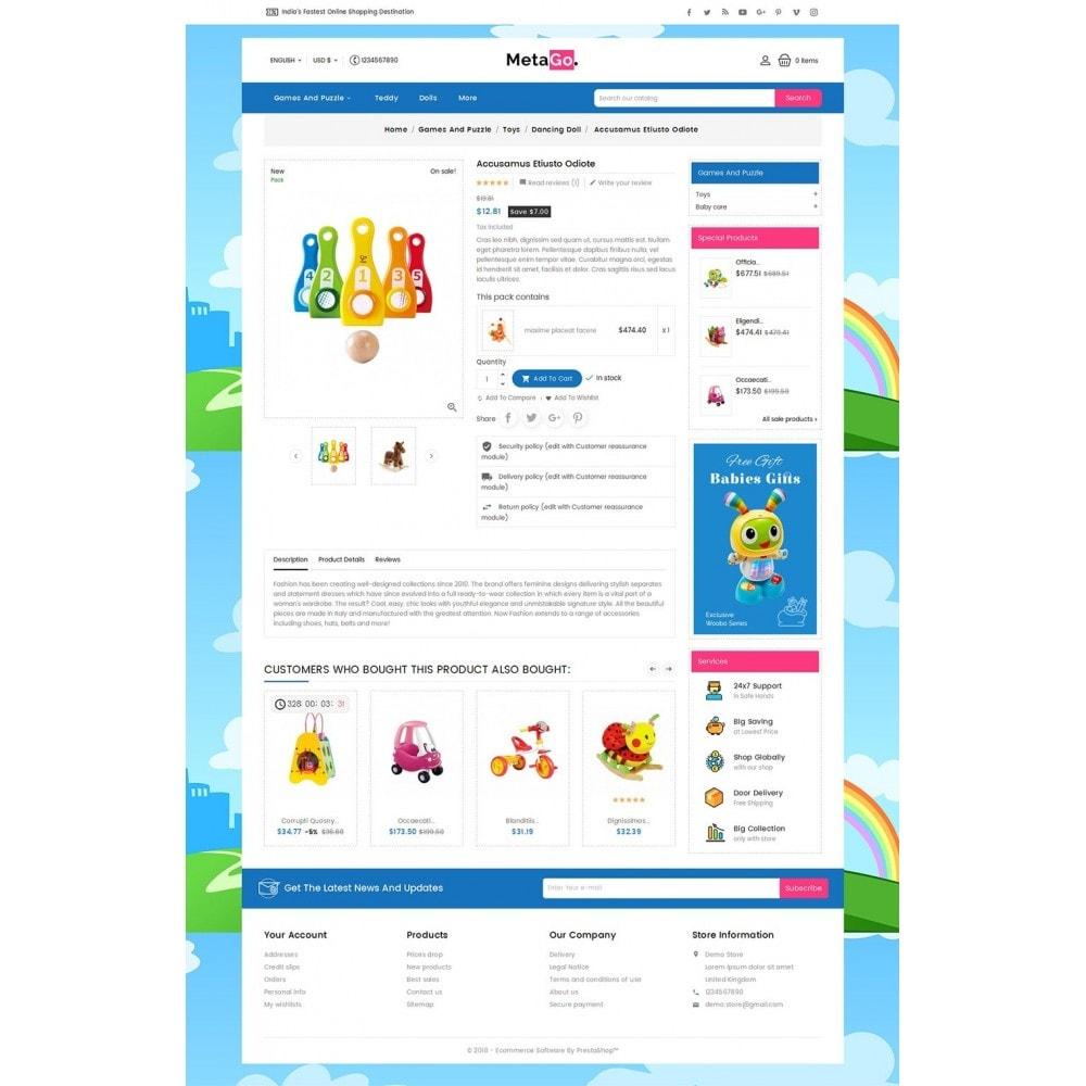 theme - Kinder & Spielzeug - Melano Kids Toys - 6