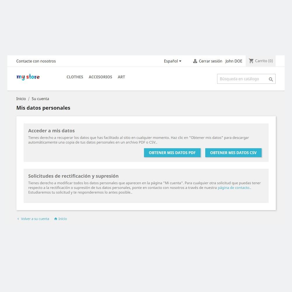 bundle - Nuestras ofertas actuales - ¡Aprovecha y ahorra! - Official GDPR Compliance (1.6) + EU Cookie Policy banner (Pack) - 2