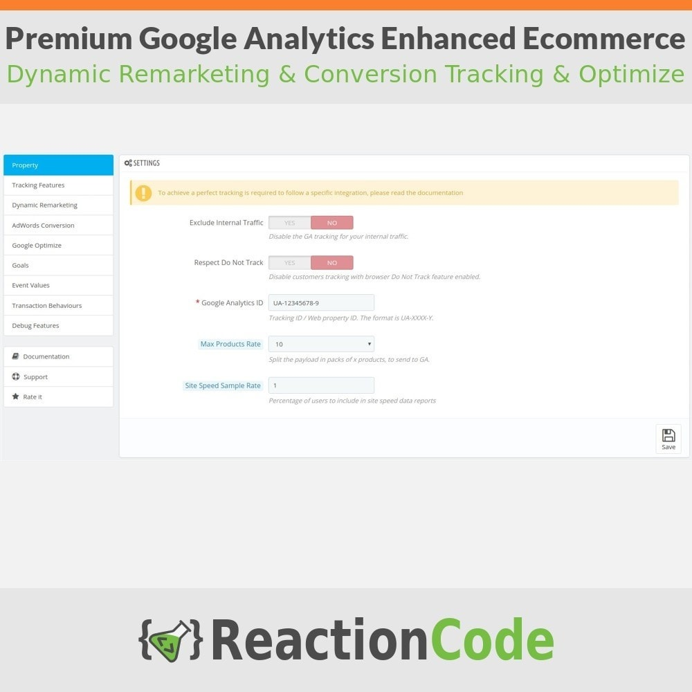 module - Informes y Estadísticas - Premium Google Analytics Enhanced Ecommerce - 2