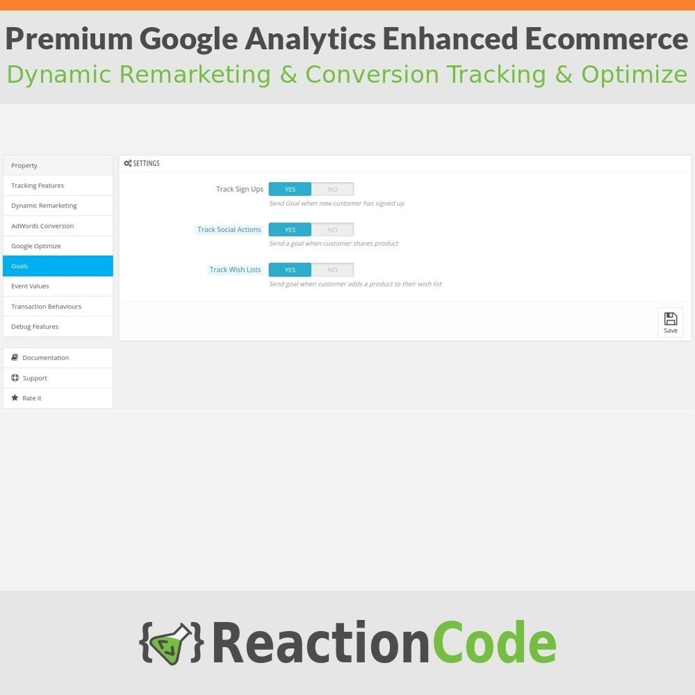 module - Informes y Estadísticas - Premium Google Analytics Enhanced Ecommerce - 7