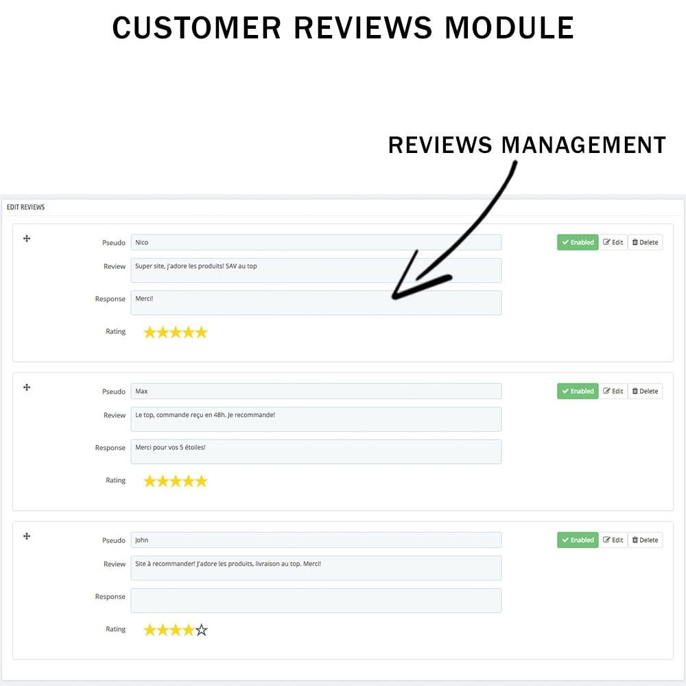 module - Klantbeoordelingen - Customer reviews + Ratings + Reviews Rich Snippets - 5