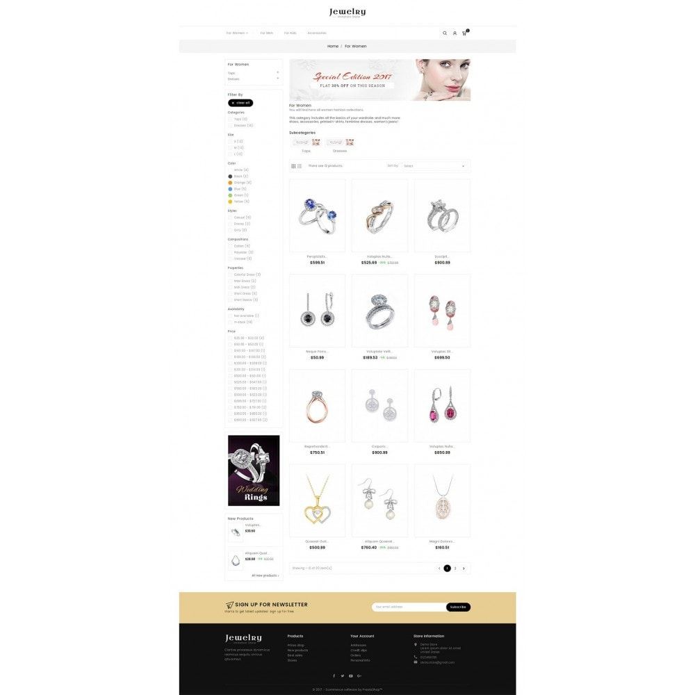 theme - Joyas y Accesorios - Jewelry Store - 4