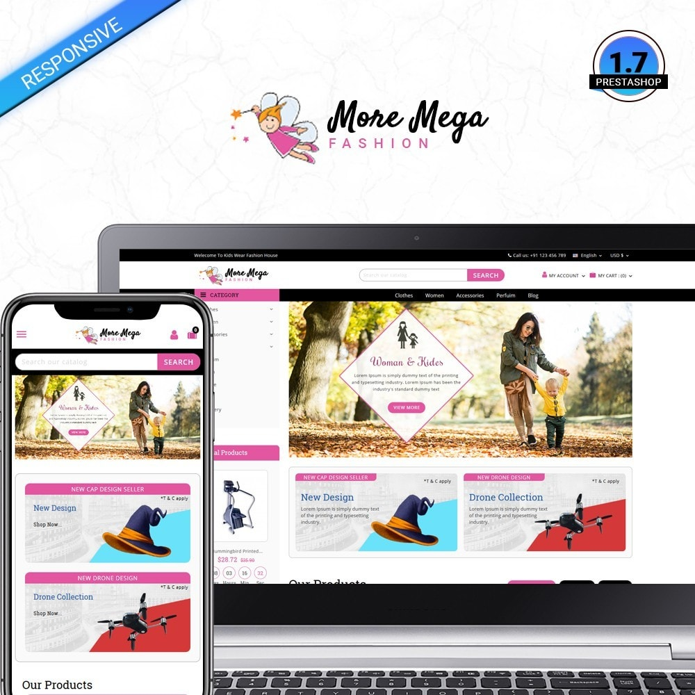theme - Fashion & Shoes - Moremega_store - 1